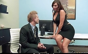 Busty Babe Fucking Her Boss In The Office 7