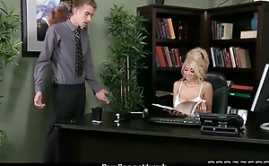 Busty Babe Fucking Her Boss In The Office 4