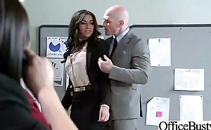 (stephani moretti) Sexy Busty Office Girl Bang Hardcore Style video-30