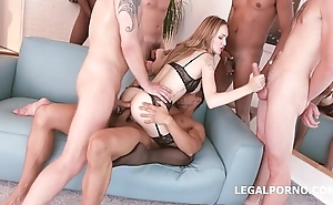 8on2 Belle Factor part #1. DP/ DAP/ TAP/ BBC/ INTERRACIAL/ AIRPLANE/ GAPES/ GANGBANG GIO205