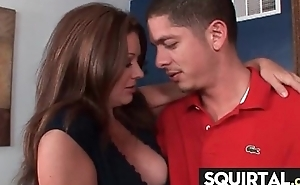 SHE SQUIRTS NICE PUSSY JUICE 4