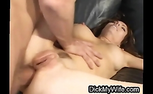 Bigtit wife ass fucked in front of hubby