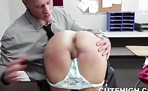 Problem Student Spanked and Fucked