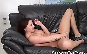 Teen fucked by step bros