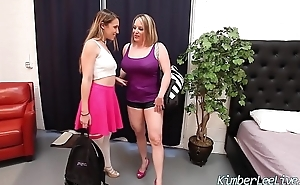 Kimber Lee in All Girl 3Some with Sara Jay &amp_ Maggie Green!
