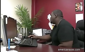 Job interview turns to a good fuck