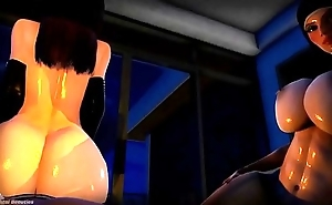 Sexy Bitch POV (Hera &amp_ Ashanti) View more animation videos - befucker.com