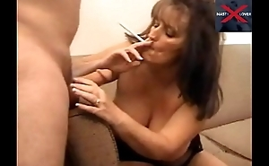 Smoking Teacher Sucks my Cock while Smoking! So Hott!