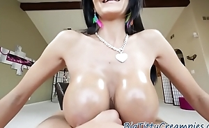 Bigtit milf jizzed on her tits after titjob