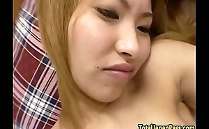 Smalltits petite asian babe banged in pov