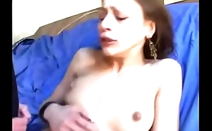 Djamila analfucked in stockings