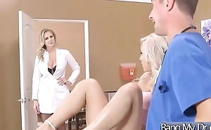 Sex Tape With Dirty Doctor Banging Slut Patient (Julia Ann &amp_ Kylie Page) mov-24