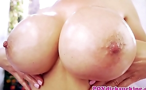 Cocksucking asian milf gives amazing titjob