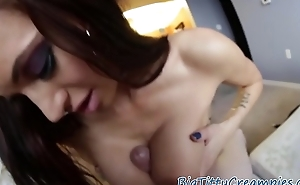 Titplaying milf gets jizzed on after titjob