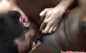 Ebony dutch hooker fucked and pussylicked