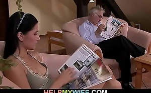 Hubby calls a guy to fuck his wife