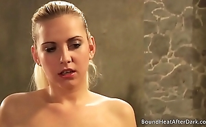 Mistress And Handmaiden: Maid Can'_t Take Her Hands Of Young Body