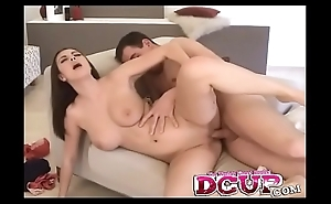 Conny Slurps Up Juicy Cock