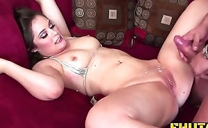 Fhuta - Charlotte gets a big load on her pierced clit.