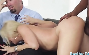 Cuckolding milf pounded by big black cock