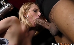 Babe fucked by black guys