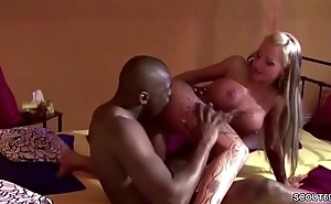 German Pornstar Sexy Cora Get Anal Fuck by Black Boy