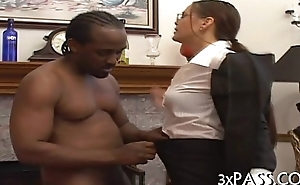 Interracial oral-job