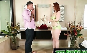 Nuru Slippery Massage And Sloppy Handjob 22